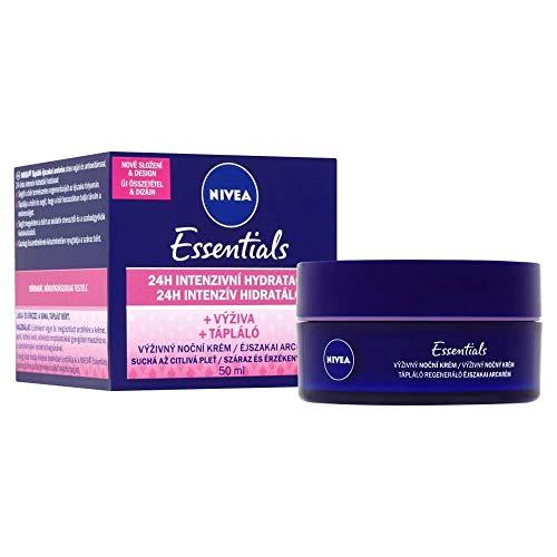Nivea Rich Face Regenerating Night Cream for Dry to Sensitive Skin 50 ml / 1.6 fl oz