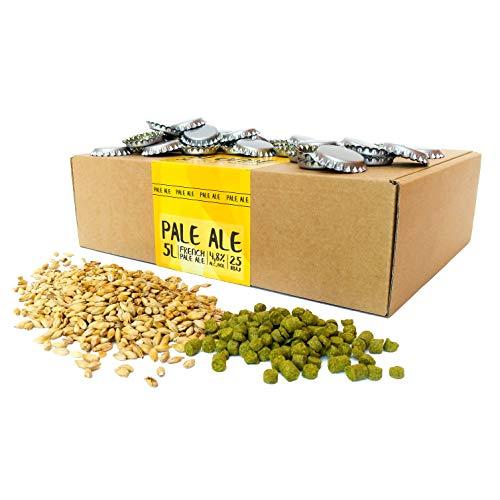 Eazy Brewing® - Nachfüllpackung für Bier Brauen Set – zum Bier Brauen Sorte Pale Ale - Bekanntmachung auf Deutsch