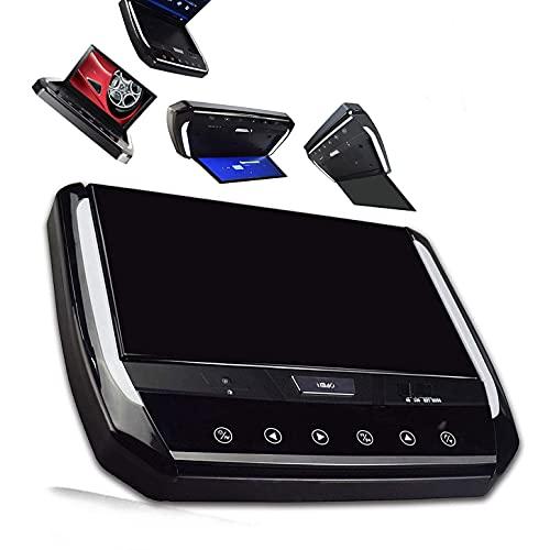 MaSYZBF 10.1in 1024 * 600 poggiatesta Auto Lettore Dvd, Sedile Posteriore MP5 Lettore multimediale poggiatesta Monitor RGB Supporto Display LCD Bluetooth Amplificatore USB