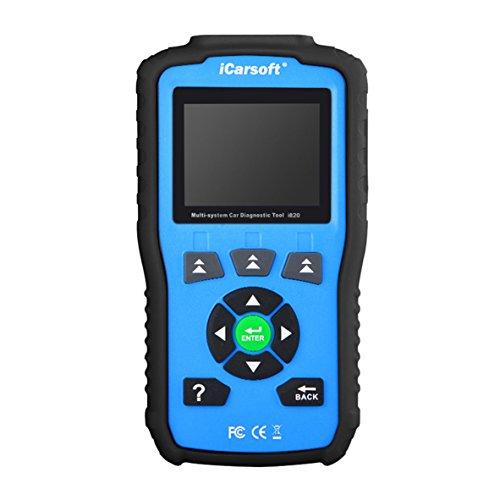Blu iCarsoft OBDII//EOBD /& Possono motorkontrollleuchte Auto Diagnostic Tool i820 Neue Version
