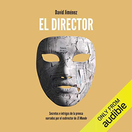 Diseño de la portada del título El director (Narración en Catalán)