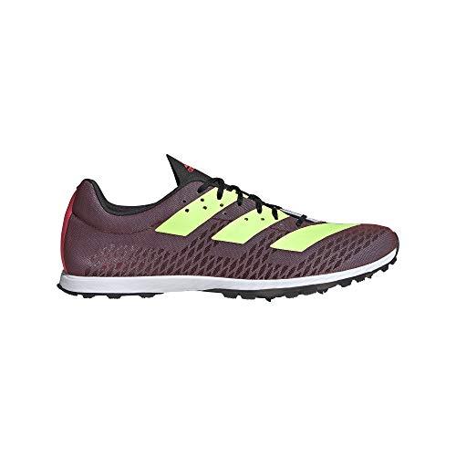 adidas Adizero XC Sprint, Zapatillas de Atletismo para Hombre, NEGBÁS/VERSEN/ROSSEN, 46 EU
