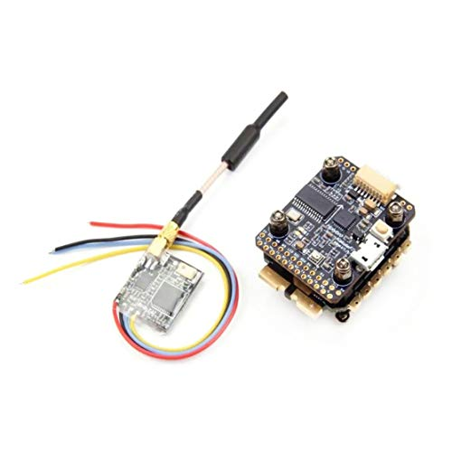 LouiseEvel215 F7 Mini Controlador de Vuelo y Tekko32 F3 45A Mini 4in1 ESC y Atlatl Mini 40CH 25 / 100mW VTX para RC Drone