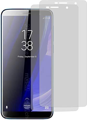 4ProTec I 2X Schutzfolie MATT passexakt für Homtom S7 Bildschirmschutzfolie Displayschutzfolie Schutzhülle Bildschirmschutz Bildschirmfolie Folie