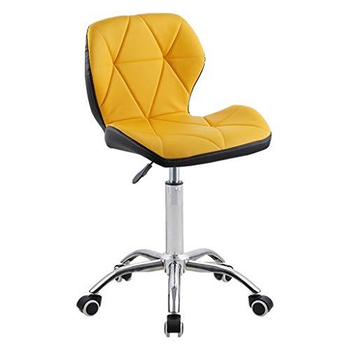 Draaistoel, Verbrede rugleuning Thuis Computer Stoel Kassa Counter Chair Lift Hoge Kruk Barkrukken (Color : G)