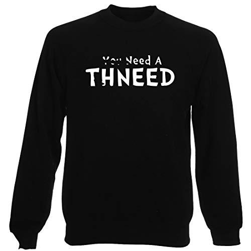 Rundhals-Sweatshirt fur Mann Schwarz WES0959 NEEAD-THNEED-T-Shirt