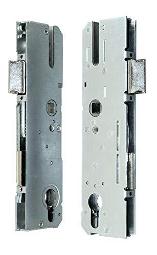 KFV Reparatur Schlosskasten Hauptschloss AS 8250 Dornmaß: 40mm (37mm) / Entfernung: 92mm, incl. SN-TEC® Montagematerial zum Schrauben und Nieten & SN-TEC® Montageanleitung