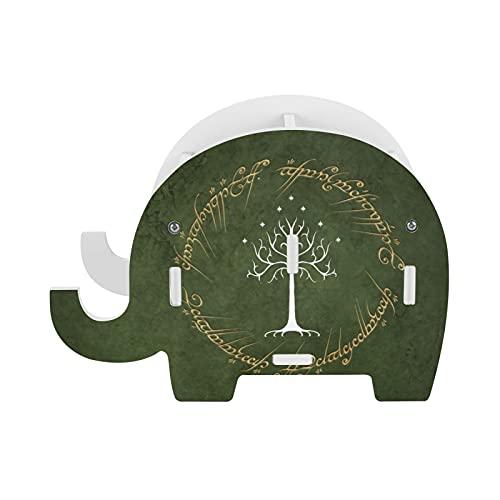 Lord Rings - Soporte para lápices con diseño de elefante con soporte para teléfono, accesorios de oficina, soporte para tableta, organizador de escritorio