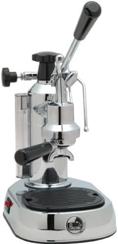 La Pavoni's stainless steel lever espresso machine