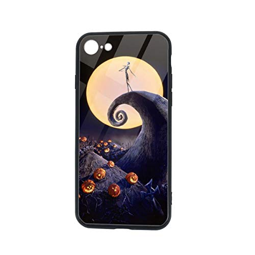 The Nightmare Before Christmas Compatible iPhone 7/8 Case iPhone SE 2020 2nd Generation Case Shockproof Bumper Tup Cover, Anti-Scratch Protective Case