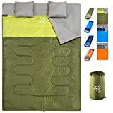 oaskys Camping Sleeping Bag - 3 Season Warm & Cool Weather -...