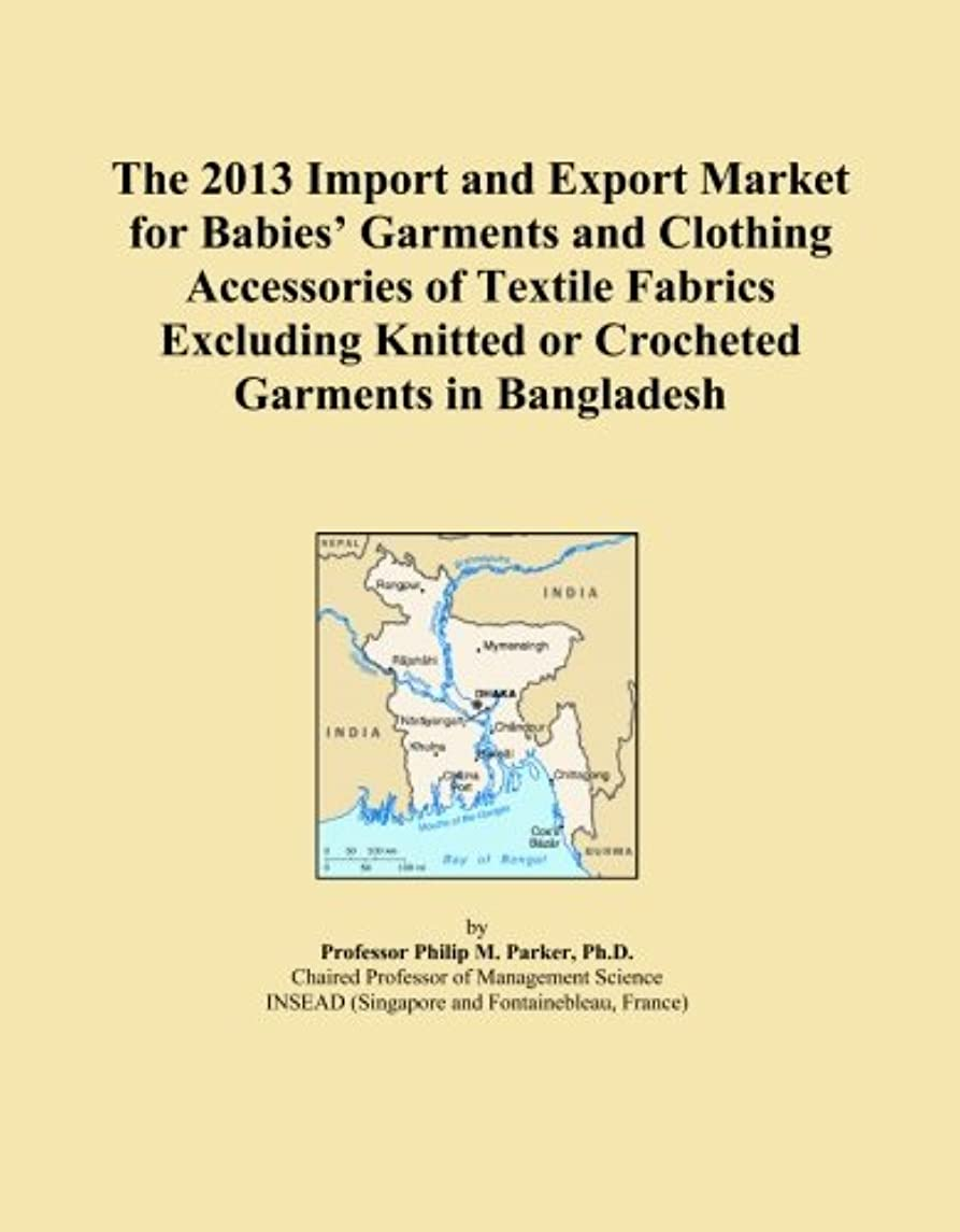 The 2013 Import and Export Market for Babies' Garments and Clothing Accessories of Textile Fabrics Excluding Knitted or Crocheted Garments in Bangladesh