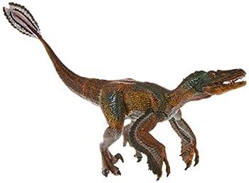 Papo Feathered Velociraptor Figure Multicolor