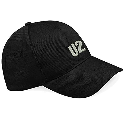 caprica91 U2 Rockband Bestickte Logo Baseball Cap Mütze — k166 — SW