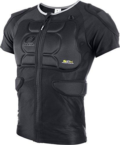 0289-326 - Oneal BP Kurzarm-Shirt mit Protektoren, schwarz, Gr. XXL