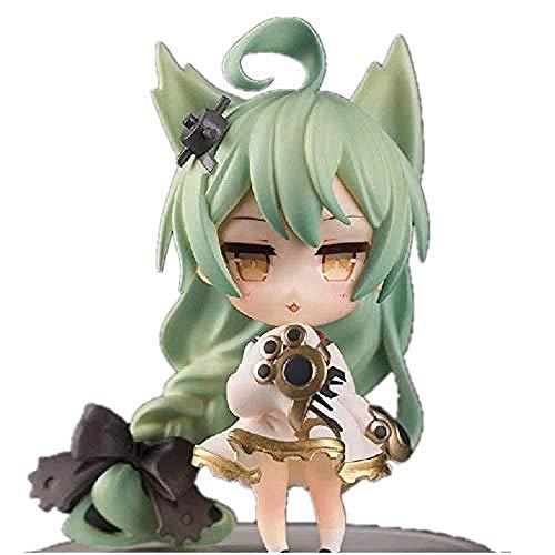 Azur Lane Figura Akashi y Laffey Figura Anime Chica Figura Anime Chibi Figura (Color: Akashi) -Akashi