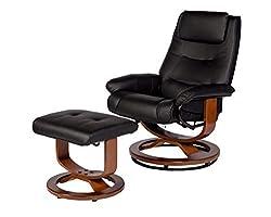 cheap RelaxZen Deluxe Soft Padded Massage Chair, Black
