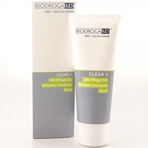 Biodroga MD Clear+ 24h Pflege unreine, trockene Haut