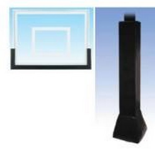 First Team Basketball Padding Package with 72in Backboard Pad and Pole and Gusset Padding for 6in x 8in Crank Adjust Poles Color: Scarlet