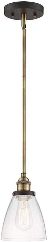 Los mejores precios y los estilos más frescos. Luz colgante de cristal cristal cristal moderna, cabeza única de hierro forjado Lámpara colgante Simplicidad creativa Comedor de iluminación colgante junto a la cama del comedor, 110V-240V, E26   E27  a la venta