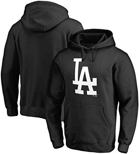 B/H Dodge Lakers Joint Champion Sweater NBA Pullover Hoodie Baseball Sportpullover Langärmlige Outdoor Basketball Hoodies mit Kordelzug-Schwarz 3_XX-Large