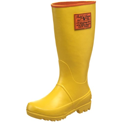 Polo By Ralph Lauren Proprietor Rainboot (Toddler/Little Kid/Big Kid),Oasis Yellow,6 M US Big Kid