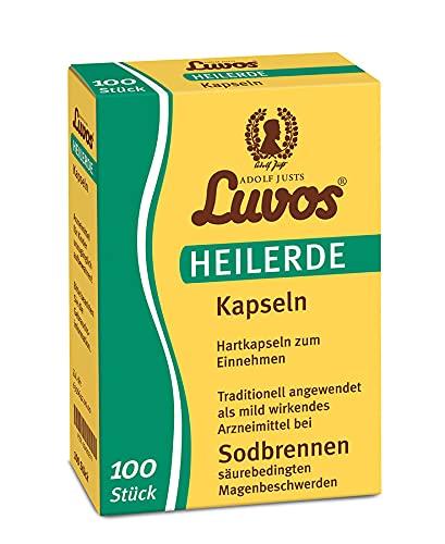 Luvos-heilerde mikrofein Kapseln Spar-Set 2x100Kaps. Wirkt gegen Sodbrennen, säurebedingte...