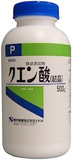 健栄製薬 クエン酸(結晶)P 500グラム