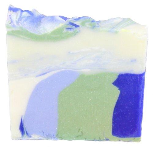 Greendoor handgesiedete Naturseife Ozean, milde umweltfreundliche Seife vegan 100g aus der Naturkosmetik Manufaktur, Natur, natürliche Handseife