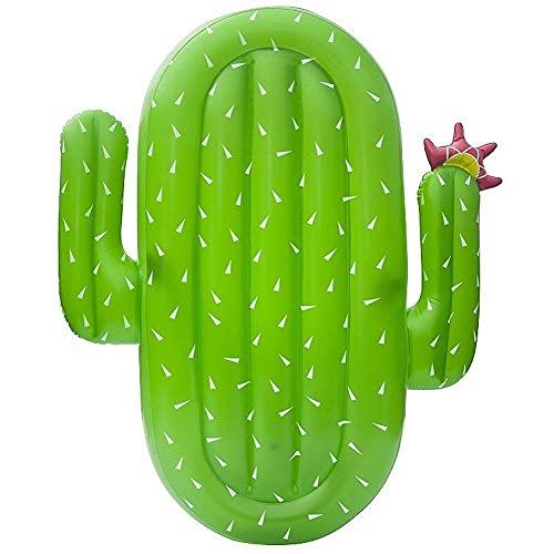 JKHN Piscina Inflable De Cactus Piscina Point Toys Summer Beach Party Floaties Lounge Balsa Decoraciones para Niños (180x140x20cm)
