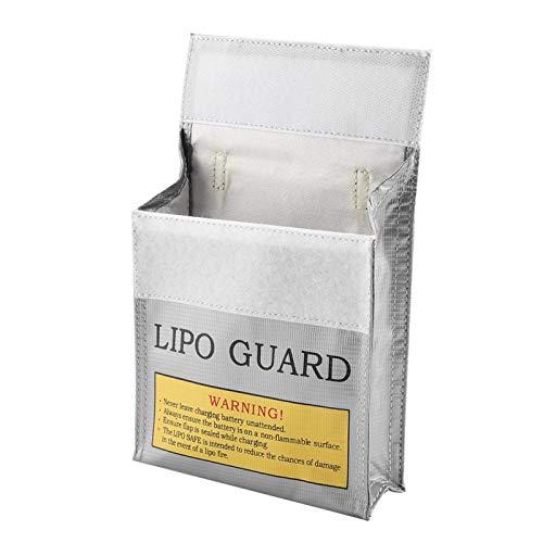 Bolsa de lipo portátil, bolsa de batería de lipo portátil a prueba de fuego ambiental segura, para taller (número 1)