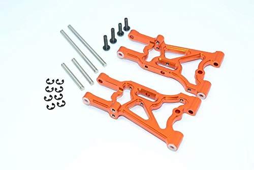 CrazyRacer Aluminum Rear Suspension Arm -1pr Orange for HPI WR8 Ken Block Flux 107900