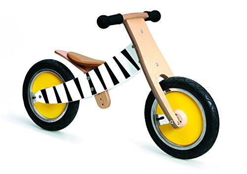 Scratch Laufrad Zebra Vélo d'équilibre 2 en 1. Fille, Vide, 52x16.5x33 cm