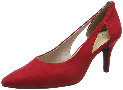 MARCO TOZZI Damen 2-2-22444-22 Pumps, Rot (Red 500), 40 EU