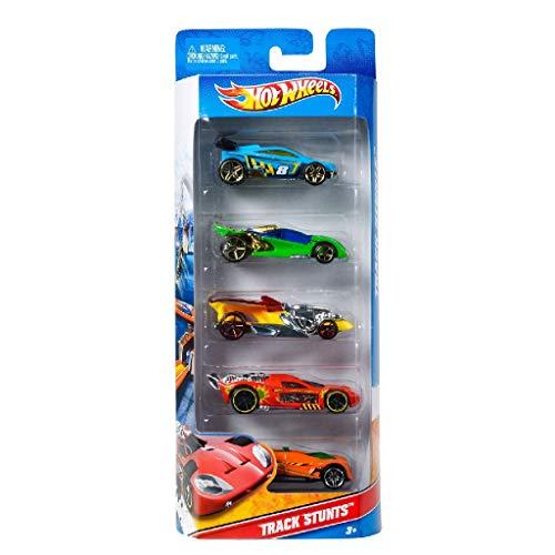 Hot Wheels - Pack de 5 vehículos (modelos variados) (Mattel