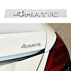 1.【Product material】: ABS plastic,Luxury Emblem. 2.【Size】: 5.82 x0.9 inchs. 3.【Compatible】:Fits All All Mercedes-Benz Models. 4.【Easy to Install】 :3M strong glue.Very easy to install, not need any tools, just peel and stick it on the vehicles . Tips ...