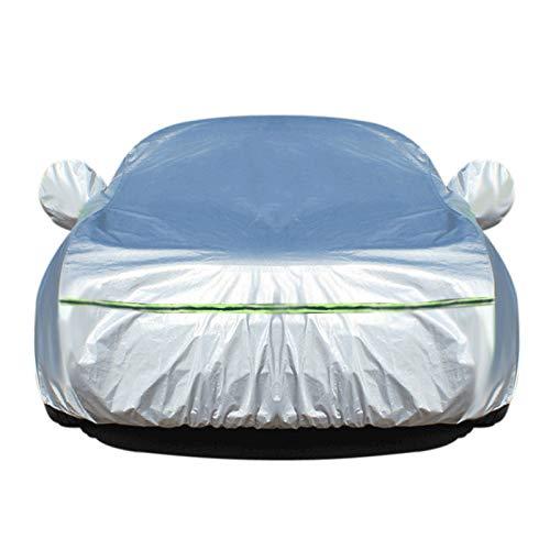 wasserdichte Autoabdeckung Kompatibel mit Acura ILX ILX Hybrid MDX MDX Sport Hybrid NSX RDX Die ganze Größe (Color : Silver, Size : ILX Hybrid)