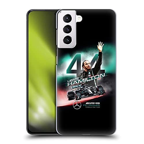 Head Case Designs Officially Licensed Mercedes-AMG Petronas F1 Team Car Graphics 2 Lewis Hamilton Hard Back Case Compatible with Samsung Galaxy S21+ 5G