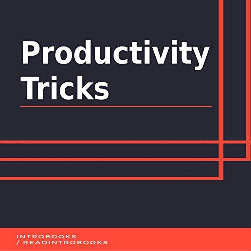 Productivity Tricks audiobook cover art