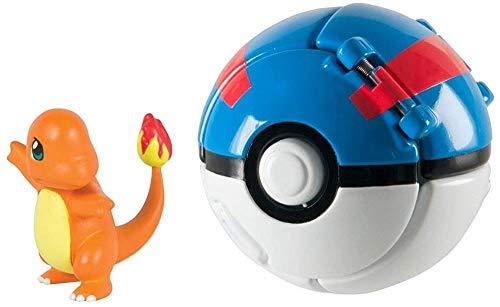 DUDENEL POKÉMON Jeton N Pop Poké Ball Figurine Pokemon et Pokemon Ball Action Figure Toy Jouet