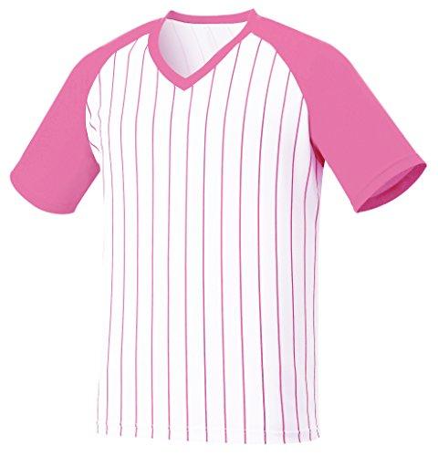 myglory77mall Baseball-Shirt für Herren XKlein (s Tag Asian) Rosa