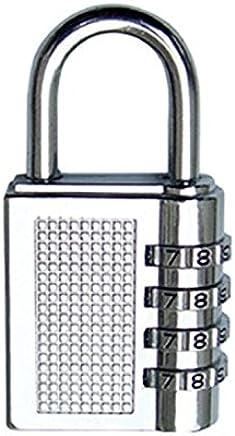Tiny Cute 4-Digit Safe PIN Hand Bag Shaped Combination Padlock Lock (Color May Vary)