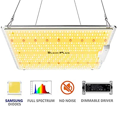 Grow Lights for Indoor Plants Bloom Plus BP-1500 LED Grow Light Full Spectrum with Samsung 2835 Diodes for 3x3 ft Grow Tent Hydroponic Veg Flower Indoor Gardening (587 LEDs)