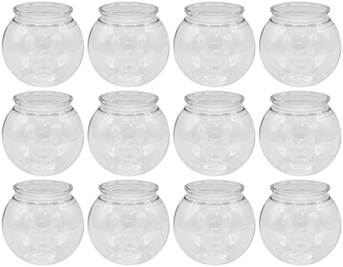 Creative Hobbies - 12 Pack - 4 Inch (100mm) Ivy Bowls Clear...