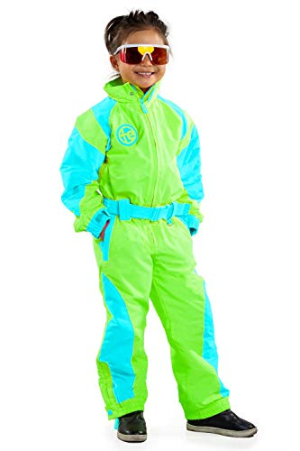 Boys and Girls from Tipsy Elves Loud Bright Colorful and Neon Ski Suits for Kids