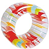 ZXIAQI Water Wheel Hinchable Agua Rueda Roller Jumbo Piscina De Verano Rueda De Flotador De Arrastre Rueda De Agua De Hierba Inflable Rodillo Niños (100 * 60 Cm /39.3 * 23.6)