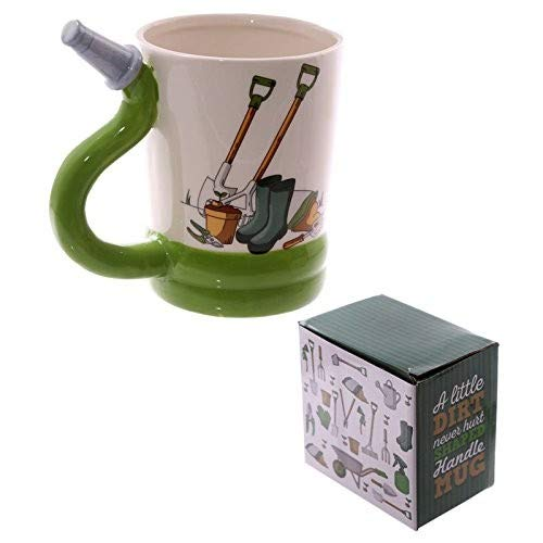 Tasse mit Gartenschlauch Griff