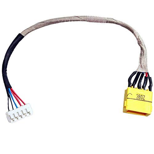 MMOBIEL DC Power Jack Dock Connector Flex Ladebuchse Ersatz kompatibel mit Lenovo Essential G700 5937 G700-5938 G700 5939 Ideapad Z710 Z710 20250