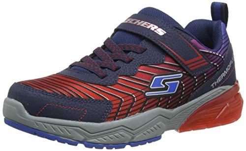 Skechers Thermoflux 2.0, Zapatillas Niños, Rojo, 33 Eu