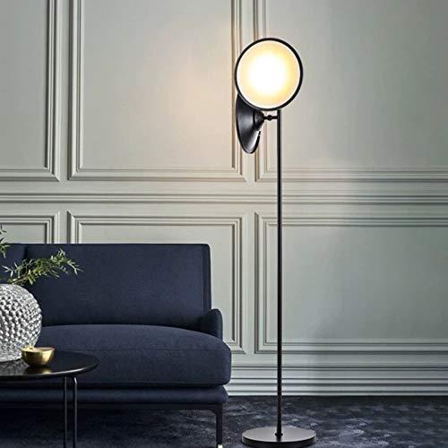WZYJ Lámpara De Lectura De Piso Moderna, Luz De Cuerno De Doble Cabeza, para Muebles De Oficina Y Dormitorio